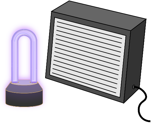 UV Light and Air Cleaner